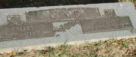 KING, VALLEY - Pulaski County, Arkansas   VALLEY KING - Arkansas Gravestone Photos