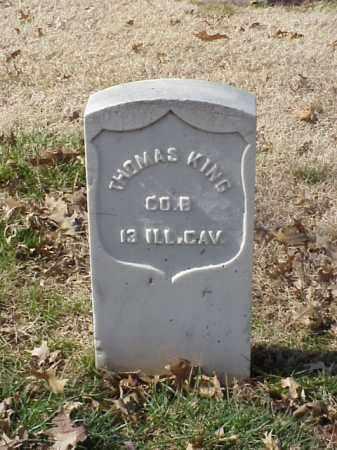 KING (VETERAN UNION), THOMAS - Pulaski County, Arkansas | THOMAS KING (VETERAN UNION) - Arkansas Gravestone Photos