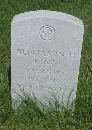 KING (VETERAN WWII), BENJAMIN H - Pulaski County, Arkansas | BENJAMIN H KING (VETERAN WWII) - Arkansas Gravestone Photos