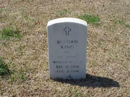 KING (VETERAN WWII), BUFORD - Pulaski County, Arkansas | BUFORD KING (VETERAN WWII) - Arkansas Gravestone Photos