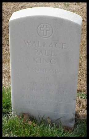 KING (VETERAN WWII), WALLACE PAUL - Pulaski County, Arkansas | WALLACE PAUL KING (VETERAN WWII) - Arkansas Gravestone Photos