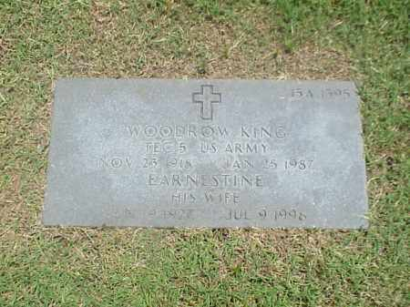 KING (VETERAN WWII), WOODROW - Pulaski County, Arkansas | WOODROW KING (VETERAN WWII) - Arkansas Gravestone Photos