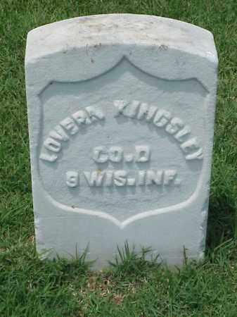 KINGSLEY (VETERAN UNION), LOVERN - Pulaski County, Arkansas   LOVERN KINGSLEY (VETERAN UNION) - Arkansas Gravestone Photos