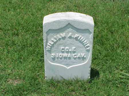 KINNEY (VETERAN UNION), WILLIAM A - Pulaski County, Arkansas | WILLIAM A KINNEY (VETERAN UNION) - Arkansas Gravestone Photos