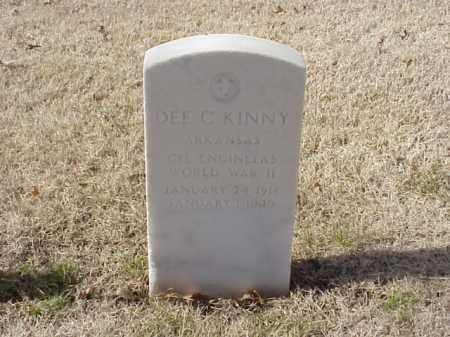 KINNY (VETERAN WWII), DEE C - Pulaski County, Arkansas | DEE C KINNY (VETERAN WWII) - Arkansas Gravestone Photos