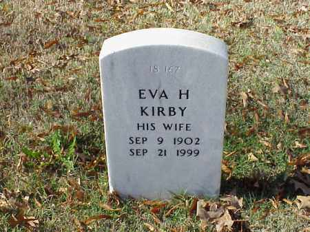 KIRBY, EVA H - Pulaski County, Arkansas | EVA H KIRBY - Arkansas Gravestone Photos