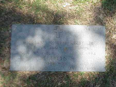 KIRBY, JR (VETERAN WWII), WILLIAM JOSEPH - Pulaski County, Arkansas | WILLIAM JOSEPH KIRBY, JR (VETERAN WWII) - Arkansas Gravestone Photos