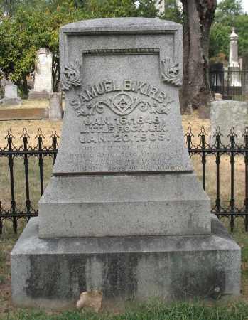 KIRBY, SAMUEL B. - Pulaski County, Arkansas | SAMUEL B. KIRBY - Arkansas Gravestone Photos