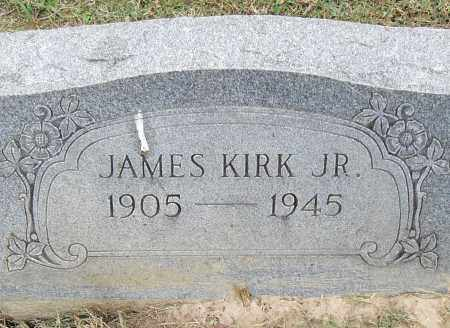 KIRK, JR, JAMES - Pulaski County, Arkansas | JAMES KIRK, JR - Arkansas Gravestone Photos