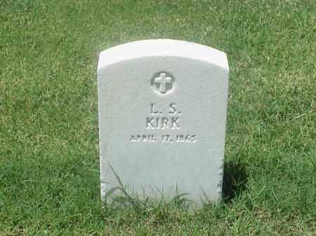 KIRK (VETERAN UNION), L S - Pulaski County, Arkansas   L S KIRK (VETERAN UNION) - Arkansas Gravestone Photos