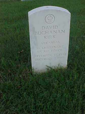 KIRK (VETERAN VIET), DAVID BUCHANAN - Pulaski County, Arkansas | DAVID BUCHANAN KIRK (VETERAN VIET) - Arkansas Gravestone Photos