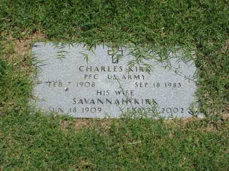 KIRK (VETERAN WWII), CHARLES - Pulaski County, Arkansas | CHARLES KIRK (VETERAN WWII) - Arkansas Gravestone Photos
