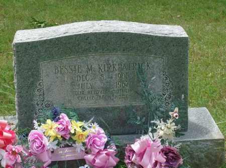 KIRKPATRICK, BESSIE M - Pulaski County, Arkansas | BESSIE M KIRKPATRICK - Arkansas Gravestone Photos