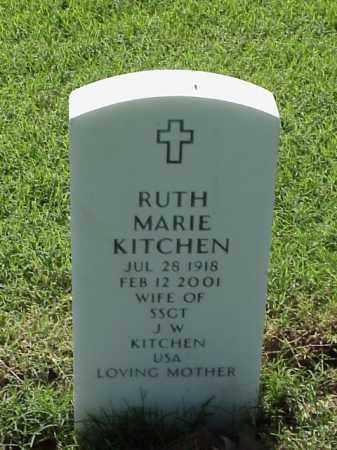 KITCHEN, RUTH MARIE - Pulaski County, Arkansas | RUTH MARIE KITCHEN - Arkansas Gravestone Photos
