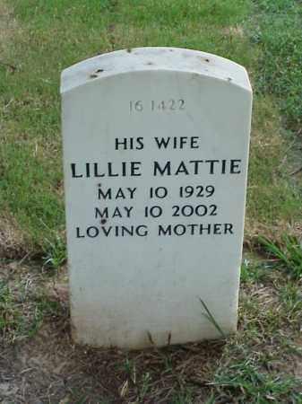 KITCHENS, LILLIE MATTIE - Pulaski County, Arkansas | LILLIE MATTIE KITCHENS - Arkansas Gravestone Photos