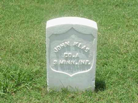 KLAS (VETERAN UNION), JOHN - Pulaski County, Arkansas | JOHN KLAS (VETERAN UNION) - Arkansas Gravestone Photos