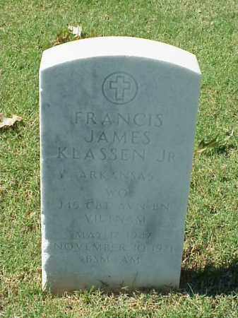 KLASSEN, JR (VETERAN VIET), JAMES - Pulaski County, Arkansas | JAMES KLASSEN, JR (VETERAN VIET) - Arkansas Gravestone Photos