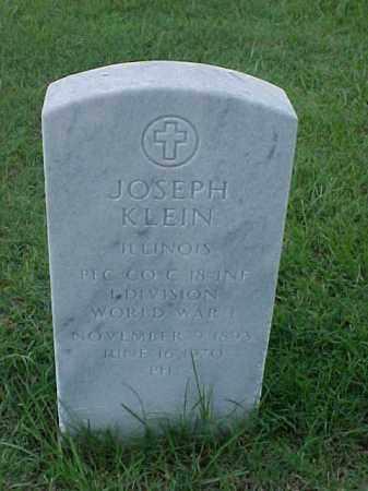 KLEIN (VETERAN WWI), JOSEPH - Pulaski County, Arkansas   JOSEPH KLEIN (VETERAN WWI) - Arkansas Gravestone Photos