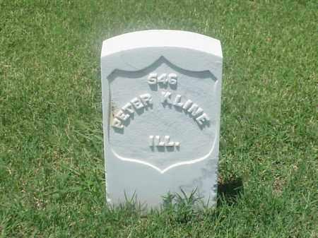 KLINE (VETERAN UNION), PETER - Pulaski County, Arkansas   PETER KLINE (VETERAN UNION) - Arkansas Gravestone Photos
