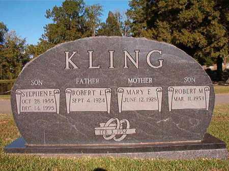 KLING, STEPHEN E - Pulaski County, Arkansas   STEPHEN E KLING - Arkansas Gravestone Photos