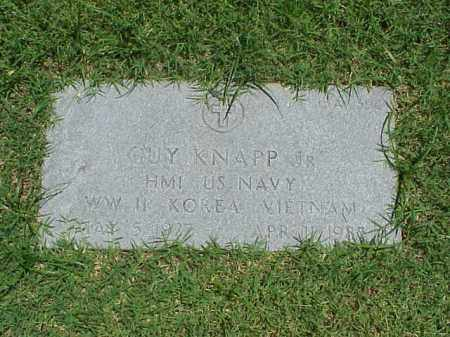 KNAPP, JR (VETERAN 3 WARS), GUY - Pulaski County, Arkansas | GUY KNAPP, JR (VETERAN 3 WARS) - Arkansas Gravestone Photos