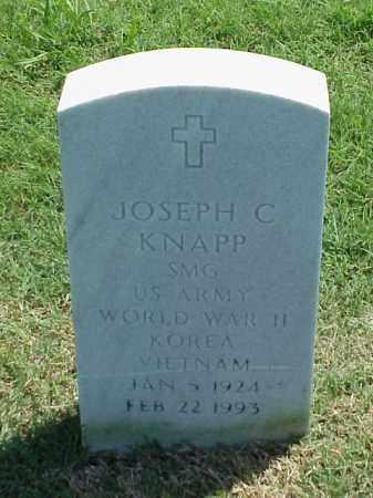 KNAPP (VETERAN 3 WARS), JOSEPH C - Pulaski County, Arkansas   JOSEPH C KNAPP (VETERAN 3 WARS) - Arkansas Gravestone Photos