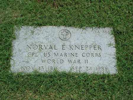 KNEPPER (VETERAN WWII), NORVEL E - Pulaski County, Arkansas | NORVEL E KNEPPER (VETERAN WWII) - Arkansas Gravestone Photos