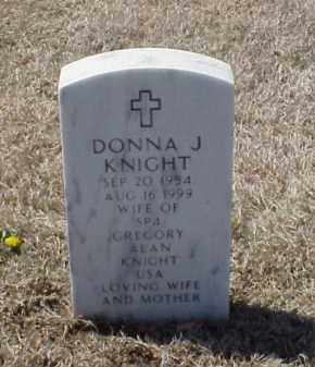 KNIGHT, DONNA J - Pulaski County, Arkansas | DONNA J KNIGHT - Arkansas Gravestone Photos