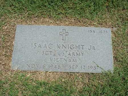 KNIGHT, JR (VETERAN VIET), ISAAC - Pulaski County, Arkansas | ISAAC KNIGHT, JR (VETERAN VIET) - Arkansas Gravestone Photos