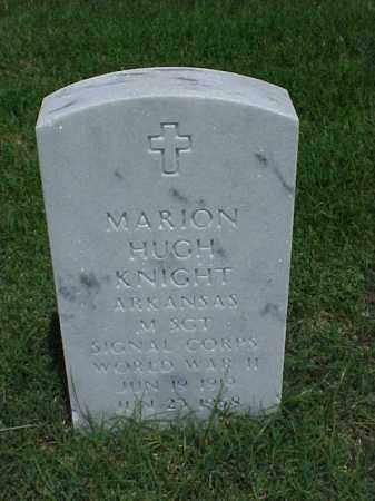 KNIGHT (VETERAN WWII), MARION HUGH - Pulaski County, Arkansas   MARION HUGH KNIGHT (VETERAN WWII) - Arkansas Gravestone Photos