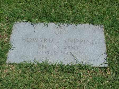KNIPPING (VETERAN WWII), HOWARD J - Pulaski County, Arkansas   HOWARD J KNIPPING (VETERAN WWII) - Arkansas Gravestone Photos