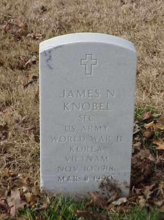 KNOBEL (VETERAN 2 WARS), JAMES N - Pulaski County, Arkansas   JAMES N KNOBEL (VETERAN 2 WARS) - Arkansas Gravestone Photos