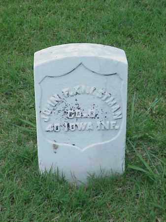 KNOSTMAN (VETERAN UNION), JOHN F - Pulaski County, Arkansas   JOHN F KNOSTMAN (VETERAN UNION) - Arkansas Gravestone Photos