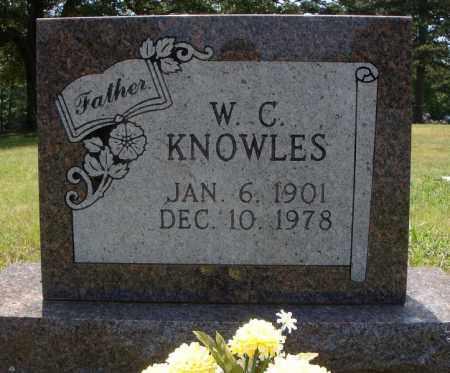 KNOWLES (NEW STONE), W.C. - Pulaski County, Arkansas | W.C. KNOWLES (NEW STONE) - Arkansas Gravestone Photos