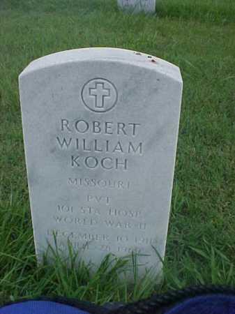 KOCH (VETERAN WWII), ROBERT WILLIAM - Pulaski County, Arkansas | ROBERT WILLIAM KOCH (VETERAN WWII) - Arkansas Gravestone Photos