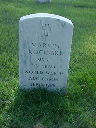 KOCINSKI (VETERAN WWII), MARVIN - Pulaski County, Arkansas | MARVIN KOCINSKI (VETERAN WWII) - Arkansas Gravestone Photos