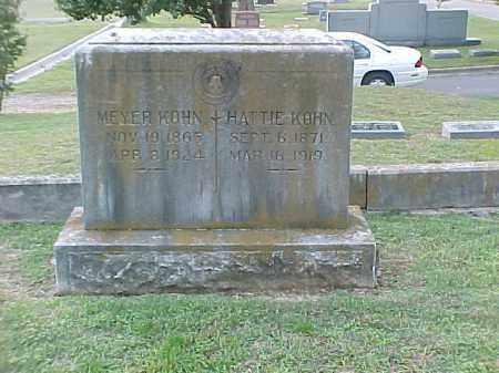 KOHN, HATTIE - Pulaski County, Arkansas | HATTIE KOHN - Arkansas Gravestone Photos