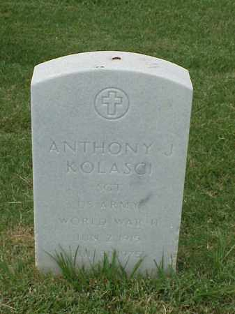 KOLASCI (VETERAN WWII), ANTHONY J - Pulaski County, Arkansas | ANTHONY J KOLASCI (VETERAN WWII) - Arkansas Gravestone Photos
