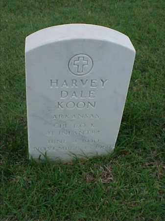 KOON (VETERAN), HARVEY DALE - Pulaski County, Arkansas | HARVEY DALE KOON (VETERAN) - Arkansas Gravestone Photos