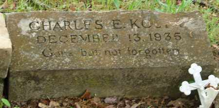 KOURY, CHARLES E., JR. - Pulaski County, Arkansas | CHARLES E., JR. KOURY - Arkansas Gravestone Photos