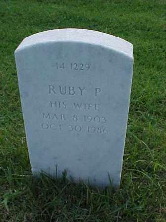 KRAH, RUBY P - Pulaski County, Arkansas | RUBY P KRAH - Arkansas Gravestone Photos