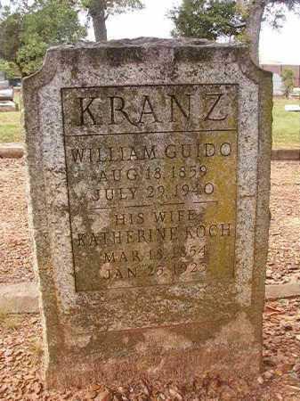 KRANZ, KATHERINE - Pulaski County, Arkansas   KATHERINE KRANZ - Arkansas Gravestone Photos