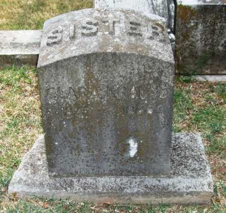 KRAUSE, CLARA - Pulaski County, Arkansas | CLARA KRAUSE - Arkansas Gravestone Photos