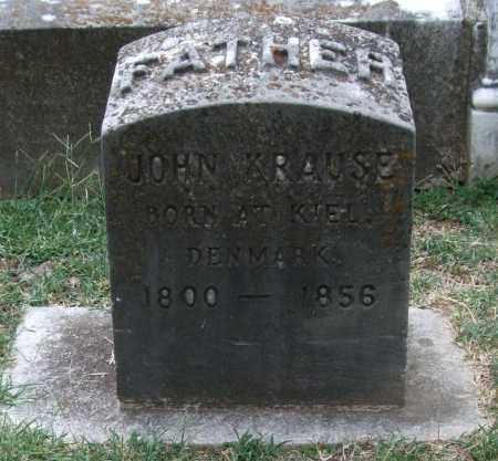 KRAUSE, JOHN - Pulaski County, Arkansas | JOHN KRAUSE - Arkansas Gravestone Photos