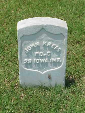 KREPPS (VETERAN UNION), JOHN - Pulaski County, Arkansas | JOHN KREPPS (VETERAN UNION) - Arkansas Gravestone Photos