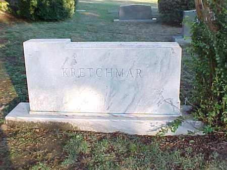 KRETCHMAR FAMILY STONE,  - Pulaski County, Arkansas    KRETCHMAR FAMILY STONE - Arkansas Gravestone Photos
