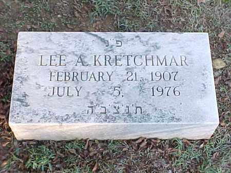 KRETCHMAR, LEE A - Pulaski County, Arkansas | LEE A KRETCHMAR - Arkansas Gravestone Photos