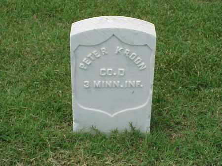 KROON (VETERAN UNION), PETER - Pulaski County, Arkansas | PETER KROON (VETERAN UNION) - Arkansas Gravestone Photos
