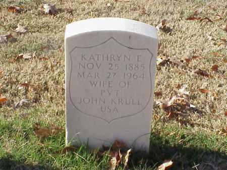 KRULL, KATHRYN E - Pulaski County, Arkansas   KATHRYN E KRULL - Arkansas Gravestone Photos