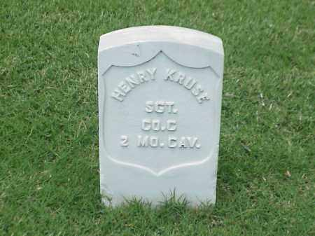 KRUSE (VETERAN UNION), HENRY - Pulaski County, Arkansas | HENRY KRUSE (VETERAN UNION) - Arkansas Gravestone Photos